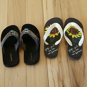 Other - GAP Toddler Girl Sandals Size 10, & 10/11